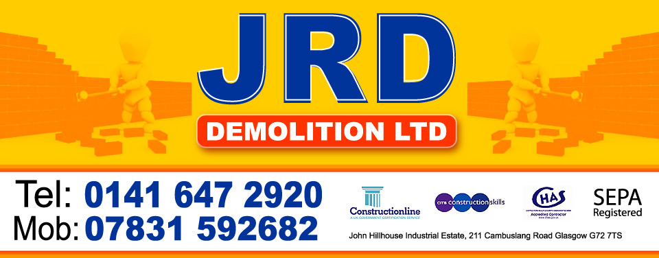 JRD Demolition & Site Clearance Glasgow